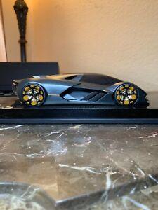 1/18 mrcollection Lamborghini Terzo millennio carbon fiber base