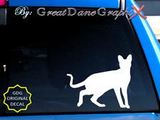 Savannah Cat -Vinyl Decal Sticker -Color -High Quality