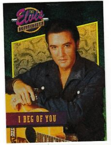 """Elvis Collection """"I Beg of You"""" Dufex Foil Card #15 of 40"""