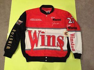NASCAR JIMMY SPENCER WINSTON NO BULL RACING Vintage JACKET MINT new w/tag LARGE