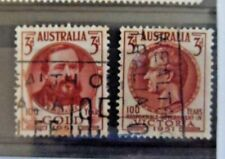 Australia 1951 Early Issue Fine Used 3d. 196289