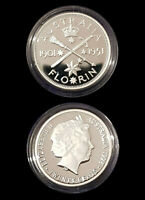 1901-51 99.9% Proof Silver FLORIN from 1998 Masterpieces Silver Set - 13.36g 20c