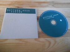 CD Indie Matthew Dear - As Audion (18 Song) Promo FABRIC REC cb
