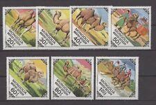 Tiere, Animals, Kamele - Mongolei - 1185-1191 ** MNH 1978