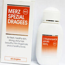 MERZ SPEZIAL SPECIAL 60 Dragees for Skin Hair & Nails Complex Vitamins& Minerals
