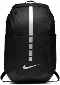 Nike Hoops Elite Pro Backpack Basketball Black Metallic Silver DA1922-011 NEW