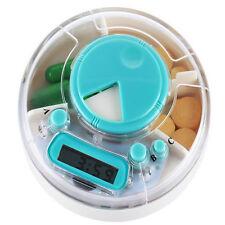 Pillbox ELETTRONICA DIGITALE LCD TIMER OROLOGI ALLARME Promemoria Pillola Casella Medicina