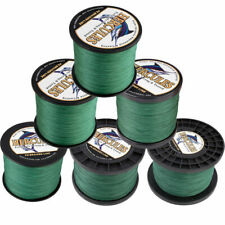 Hercules 1094Yds 10-300lb Green 8 Strands Weave Tackle PE Braided Fishing Line