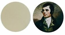 ROBERT BURNS METAL GOLF BALL MARKER DISC 25MM DIAMETER