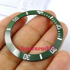 38mm neuf haute qualité blanc marques green ceramic bezel for men's watch