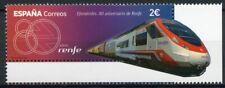 Spain High-Speed Trains Stamps 2021 MNH RENFE 80th Anniv Railways Rail 1v Set