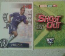 Disparar Fuera Tarjeta 2003/04 (03/04) - Green Back-Chelsea-Joe Cole