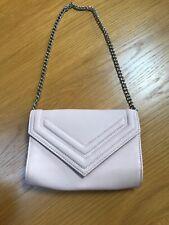 Nude Pink Primark Shoulder Bag Clutch Chain Strap