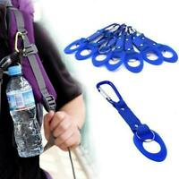 Hiking Camping Travel Water Bottle Buckle Outdoor Carabiner Clip Holder Bot S1G4