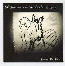 (FZ196) Edd Donovan & The Wandering Moles, House On Fire - 2013 DJ CD