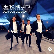 Quatuor Debussy - Marc Mellits: String Quartets Nos. 3, 4, 5