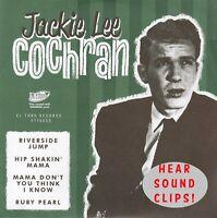 ROCKABILLY EP: JACKIE LEE COCHRAN-Riverside Jump/Hip Shakin' Mama/Ruby Pearl + 1