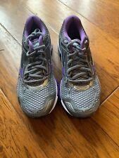 New Womens Gray And Purple Mizuno Wave Creation 19 Running Shoe - Size 8 Medium