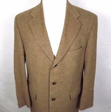 Grant Thomas Mens Camel Hair Blazer Sport Coat Size 42R Lord & Taylor Brown
