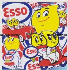 Autocollant Stickers - ESSO GOUTTES D'HUILE PELE MELE