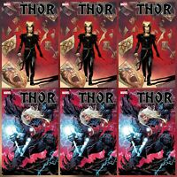 THOR #10 (2020) CATES ~ MAIN & KNULLIFIED VARIANT ~ 2 COVERS 6 PACK ~ 12/2