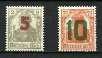 Poland 1919 GNIEZNO ISSUE MNH ** OVPT ** SIGN