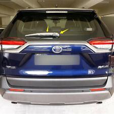 Accessories Chrome Rear Window Wiper Cover Trim For Toyota RAV4 RAV 4 2019- 2021