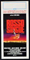 Plakat Rot Blut Mauvais Sang Leos Carax Lavant Binoche Kleine Film L100