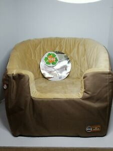 "K&H PET PRODUCTS 7621 Tan BUCKET BOOSTER PET SEAT SMALL TAN 20"" X 15"" X 20"""