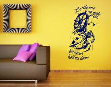 Wall Vinyl Sticker Room Decals Mural Design Anchor Quote Ship Sea Sails  bo1925