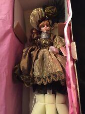 Maryse Nicole Franklin Mint Heirloom Beautiful Belle Doll porcelain 20 showgirl