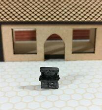 Dollhouse Miniature 1:144 Scale Old Fashion Dry Sink Micro Minis Furniture