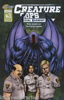 Creature Cops Special Varmint Unit #3 (of 3) Comic Book 2015 - IDW