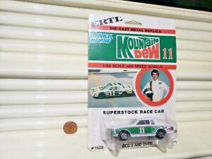 ERTL #1598 DARRELL WALTRIP #11 MOUNTAIN DEW 1980 CHEVROLET 1/64 Mint in BubblPak