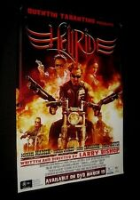 Original Australian HELL RIDE Rolled Video O/S Mega Rare LARRY BISHOP Tarantino