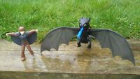 Spin Master HOW TO TRAIN YOUR DRAGON Toothless Action Figure Hiccup Toy Play Set