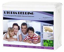 QUEEN SIZE Mattress Cover Protector 100% Waterproof Hypoallergenic Defend