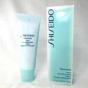 Shiseido Pureness Deep Cleansing Foam ~ 3.6 oz ~ BNIB