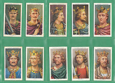 JOHN  PLAYERS  &  SONS  -  SCARCE  SET  OF  50  KINGS  &  QUEENS  CARDS  -  1935
