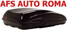 BOX AUTO AFS PORTAPACCHI PORTATUTTO BAULE G3 HELIOS 400 MADE IN ITALY