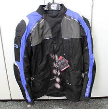 Lagerverkauf NEU LEVIOR Motorradjacke blau/schwarz Größe 3XL