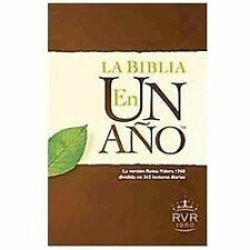 La Biblia en un año RVR60 (Spanish Edition), , Good Book