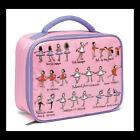 Ballet Design Zip Close Lunch Bag/Lunch Box