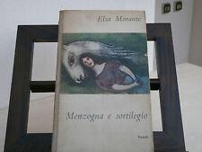 """Morante, Elsa: """" Menzogna e sortilegio"""" - Einaudi, 1948 - prima edizione"""
