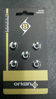 Origin 8 Chrome Chainring Bolts for BMX Bicycle