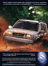 1999 Suzuki V6 Grand Vitara - Heisman - Classic Vintage Advertisement Ad D179