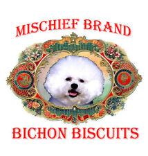 Bichon Frise  Mischief Brand Biscuit Tin & Cookies