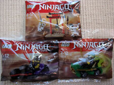 LEGO NINJAGO - 3 Sacchetti di plastica (30530+30531+30532) -