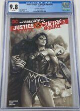 DC Justice League vs Suicide Squad #1 Stanley Lau Artgerm Legacy Edition CGC 9.8
