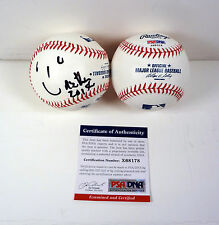 ARETHA FRANKLIN QUEEN OF SOUL RESPECT SIGNED AUTOGRAPH MLB BASEBALL PSA/DNA COA